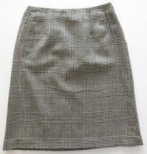 e8f0c51c9ecb Harve Benard By Bernard Holtzman Black White Plaid A-Line Skirt Medium