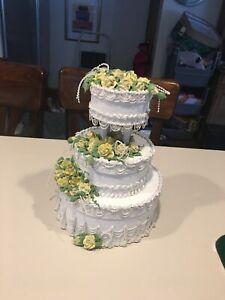 Wedding cake box gift keepsakes shower
