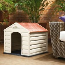Rimax Taupe Dog House for Small Breeds
