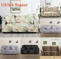 1/2/3/4 Seater Stretch Sofa Covers Lounge Couch Chair Cover Slipcover Protector