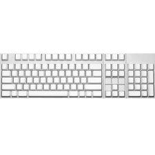 Max Keyboard ANSI 104-key Cherry MX Replacement Keycap Set 6.0x (White / Blank)