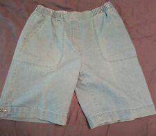 Allison Daley Denim Shorts Womens Size 8