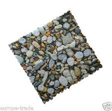 PVC STONE Pebble Design forte aspirazione antinonslip Bagno Doccia Tappetino quadrato