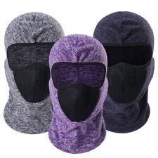 Men Women Fleece Balaclava Face Cover Motorcycle Ski Face Mask for Cold Weather