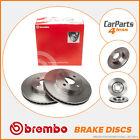 Rear Brake Discs 288mm Solid Volvo S60 S80 V70 XC70 00-On - Brembo 08.7765.11