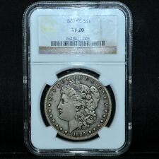 1889-CC $1 MORGAN SILVER DOLLAR ✪ NGC VF-20 ✪ S$1 VERY FINE CARSON CITY◢TRUSTED◣