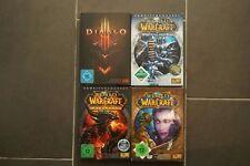 Colección de 4 juegos Wow World of Warcraft y Diablo
