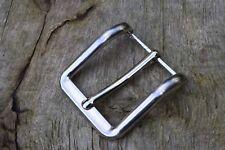 metallo fibbia cintura per 38mm 3.8Cm Cinghia LUCIDO Frozen ARGENTO E
