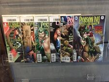 POISON IVY CYCLE OF LIFE AND DEATH #1 2 3 4 5 6 1-6 SET NM