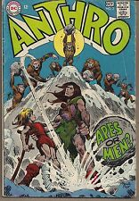 ANTHRO #2 DC 09-10/68 CAVEMAN SOCIETY STORY APES OR MEN? HOWIE POST VG+