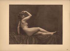 Héliogravure Walery Laryew, Nu 1925  Planche Nr: XIX