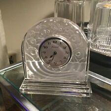 Très belle horloge de la  cristallerie Baccarat
