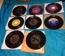 "michael jackson jacksons joblot of 8 7"" Records morning glow, music & me, happy"