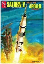 2019 AMT/Round2Models SATURN V ROCKET AND APOLLO 11 SPACECRAFT 1:200 Scale