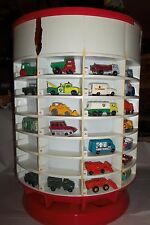 MATCHBOX COLLECTION. 1965 year set rare display case w/1965 catalog