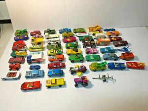 Lot Vintage Diecast Cars Matchbox, Hot Wheels, Midgetoy, Corgi,Tootsietoy,Tomica