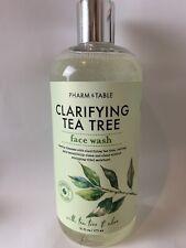 PHARM to TABLE CLARIFYING TEA TREE  FACE WASH BOTANICAL PROFILE