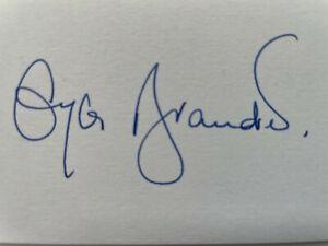 Gyles Brandreth - Countdown - Have I Got News For You - Original HS Autograph