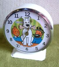 réveil bayard animé Tintin