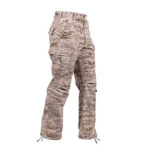 Rothco 23366 Desert Digital Camo Vintage Paratrooper Fatigue Pants