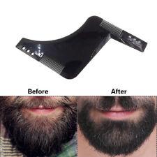 Gentlemen Style Beard Trim Men Template Modelling Tools Shaping Hairbrush Comb