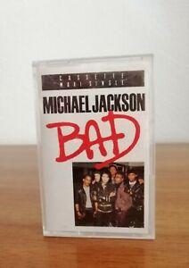 Michael Jackson BAD Kassette Cassette Maxi Single MC 6511554 Epic Records