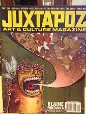 JUXTAPOZ #67 AUGUST 2006 CHET ZAR CANNIBAL FLOWER ALEX GROSS CHRIS MARS