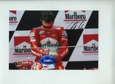 Loris Capirossi Ducati Moto GP Winner Catalunya GP 2003 Signed Photograph 1