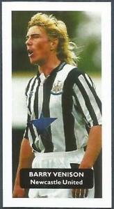 SCORE-FOOTBALL STARS- #099-NEWCASTLE UNITED-BARRY VENISON