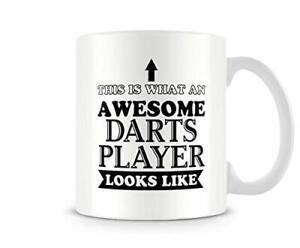 Awesome Darts Player - Funny Mug by Behind The Glass