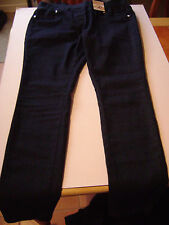 Cotton Blend Regular Size Jeans Jeggings, Stretch for Women
