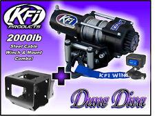 2000lb KFI Steel Winch Mount Combo - Trailblazer Scrambler 250 330 400 500