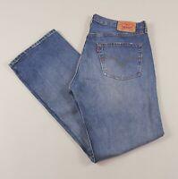 Vintage LEVI'S 501 Blue Straight Fit Men's Worker Jeans 38W 34L 38/34 /J46017