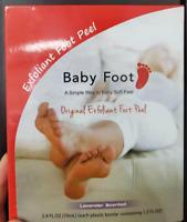 Baby FOOT 2.4 fl. oz.Peel Exfoliating Lavender Scented Foot Mask Feet Repair