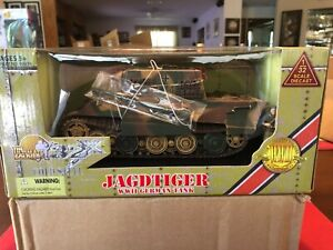 Ultimate Soldier 1/32 Scale Jadgtiger tank New Unopened Variant Color.