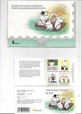 FINLAND. Moomin Cartoon Characters. Booklet++. 1998. 1070a. MNH. (BI#BX52)
