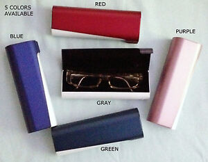 Eyeglass Case, Reading Glasses & Small Frames, Clamshell 6 x 2 x 1.125 in.