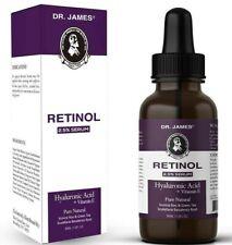 Dr.James Clinical Retinol Serum 2.5% 1 OZ / 30ml  EXP: 03/22 (Pharma Tested)