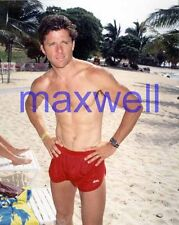 MAXWELL CAULFIELD #2669,BARECHESTED,SHIRTLESS,candid photo,GREASE 2,the colbys