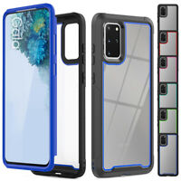 For Samsung Galaxy S20 Ultra S20 Plus Hybrid Bumper Shockproof Clear Case Cover