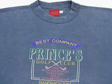 *BEST COMPANY PULLOVER*PRINCE´S GOLF CLUB SANDWISH BAY*GRAU*ZX*GR: M*TIP TOP