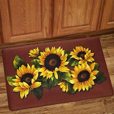 "Black Eyed Susan Memory Foam Anti-Fatigue Kitchen Floor Mat 18"" x 30"""