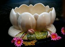 More details for art deco clarice cliff water lily planter/bowl/vase - circa 1930