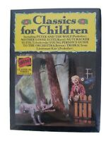 CLASSICAL MUSIC CHILDREN SERIES x 2 Cassette Tapes Incl Peter And The Wolf Music