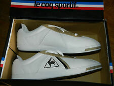 LE COQ SPORTIF kinshasa 1010084 leather taille EUR 45 us 11 SIZE UK 10.5 JP 29