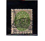 Dinamarca valor del año 1875-903 (AM-141)