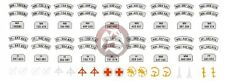 Peddinghaus 1/35 German Wehrmacht Motorcycle Markings & License Plates WWII 1473