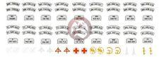 Peddinghaus 1/35 German Wehrmacht Motorcycle Markings & License Plates WWII 1473