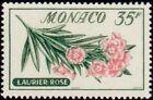 "MONACO N° 519 ""FLEURS, LAURIER ROSE 30 F"" NEUF x TB"
