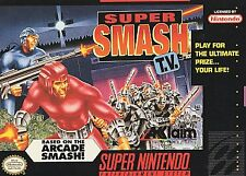 Super Smash TV - Nintendo Super NES, Acceptable Nintendo Super NES, Super Ninten